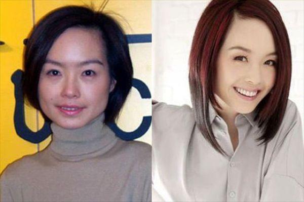 Mais antes e depois da maquiagem de garotas asiáticas 19