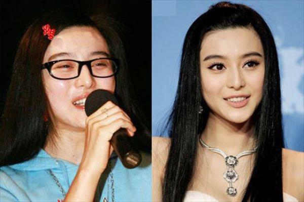 Mais antes e depois da maquiagem de garotas asiáticas 20