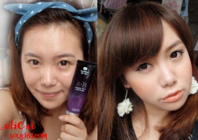 Mais antes e depois da maquiagem de garotas asiáticas 50