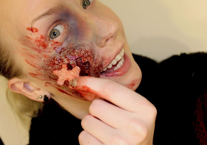 Artista autodidata leva a maquiagem de efeitos especiais a um outro n�vel 10