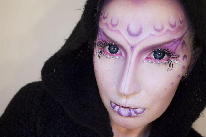 Artista autodidata leva a maquiagem de efeitos especiais a um outro n�vel 13