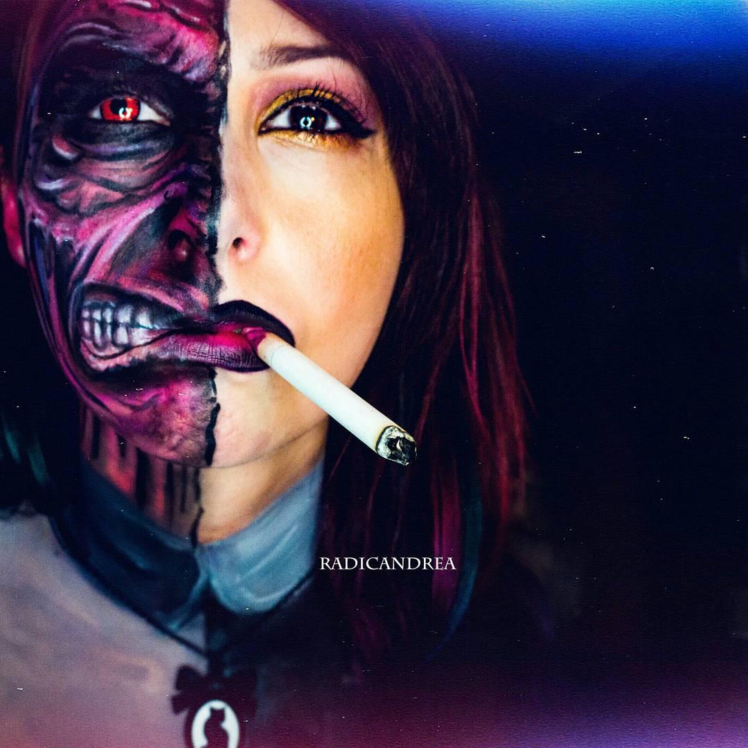 Esta maquiadora se transforma em terr�veis monstros de pesadelo 03