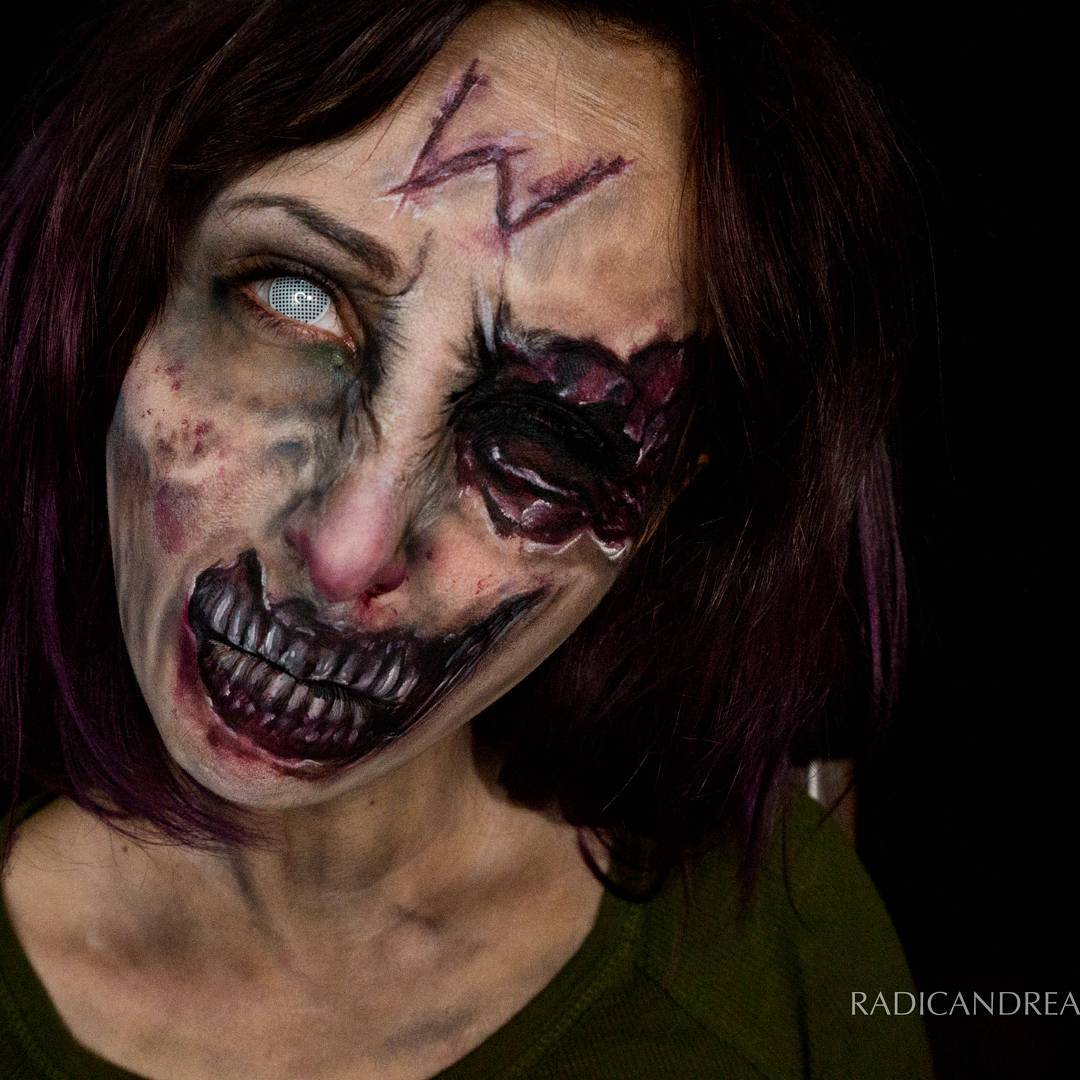 Esta maquiadora se transforma em terr�veis monstros de pesadelo 08