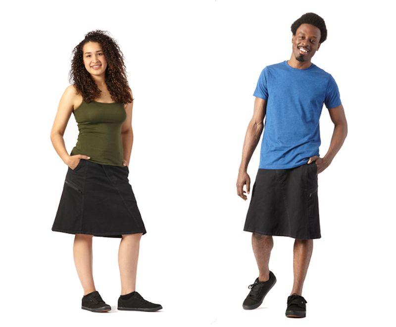 Designer quer tornar as saias unissex populares novamente