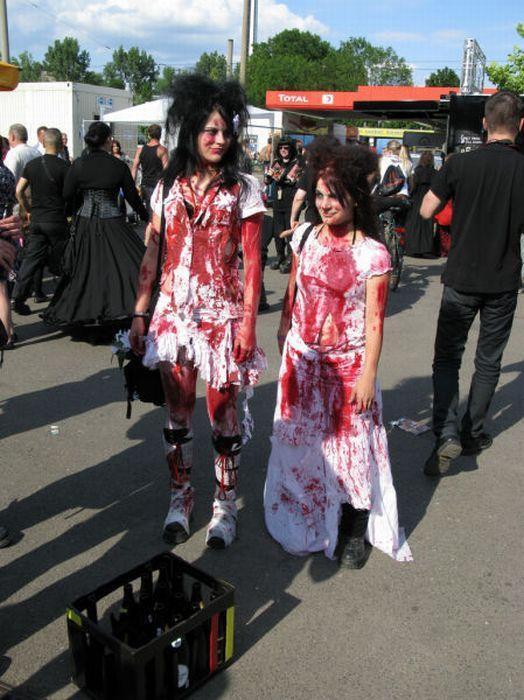 Wave Gotik Treffen, um festival gótico em Leipzig 02