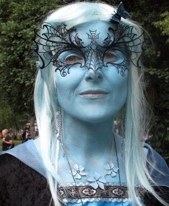 Wave Gotik Treffen, um festival gótico em Leipzig 09