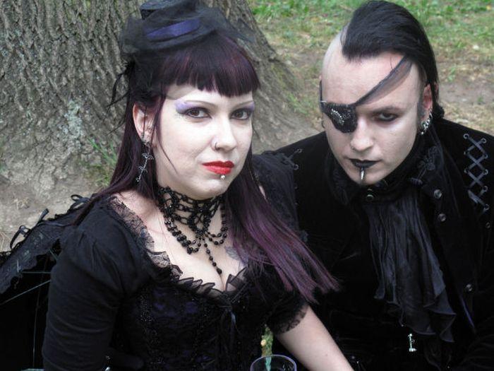 Wave Gotik Treffen, um festival gótico em Leipzig 11