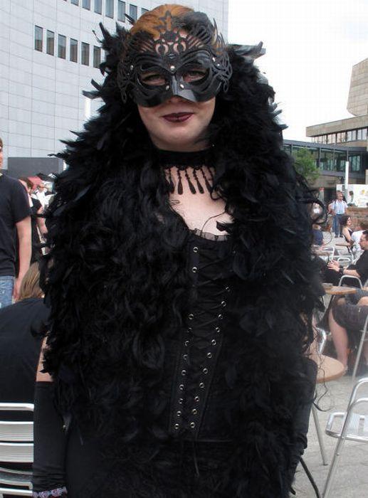 Wave Gotik Treffen, um festival gótico em Leipzig 12
