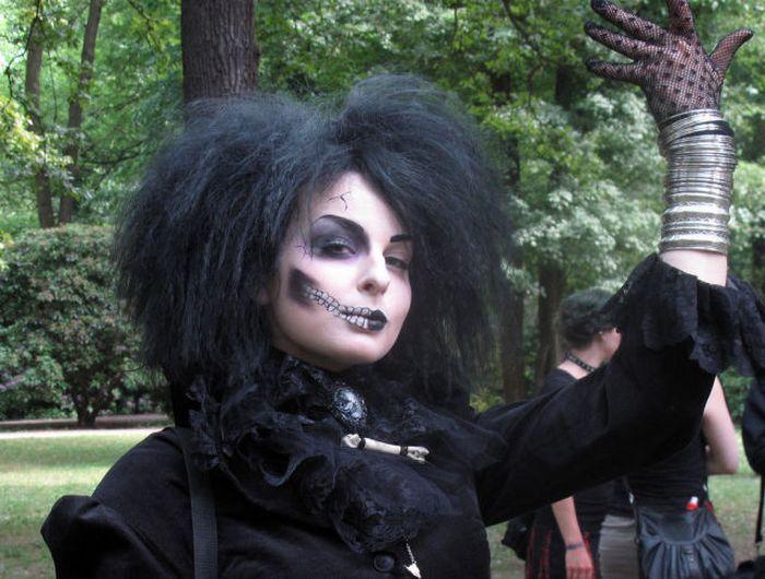 Wave Gotik Treffen, um festival gótico em Leipzig 15