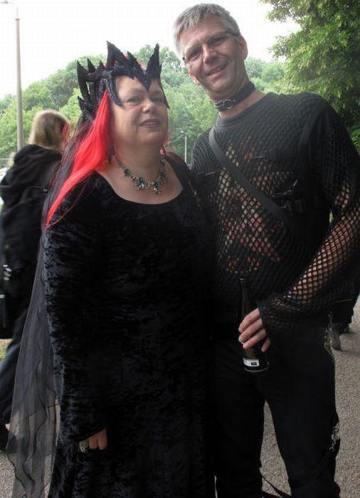 Wave Gotik Treffen, um festival gótico em Leipzig 20