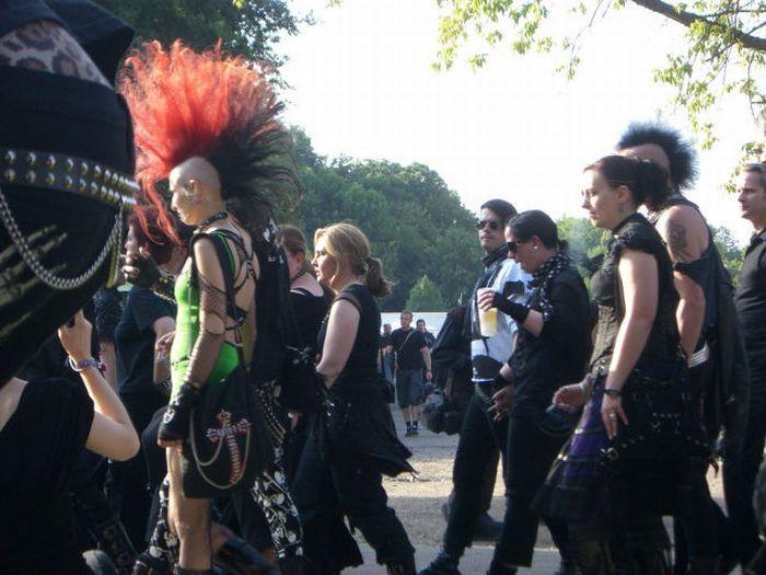 Wave Gotik Treffen, um festival gótico em Leipzig 30