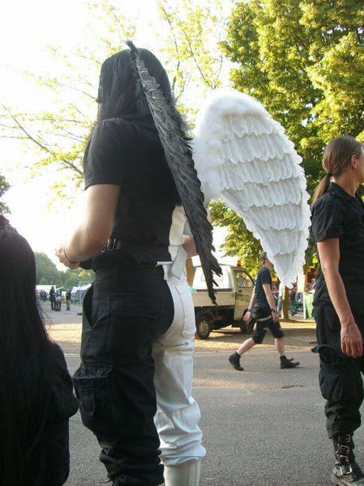 Wave Gotik Treffen, um festival gótico em Leipzig 31