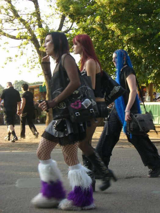 Wave Gotik Treffen, um festival gótico em Leipzig 33