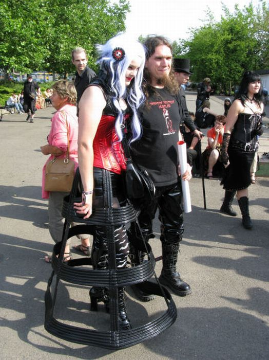 Wave Gotik Treffen, um festival gótico em Leipzig 36