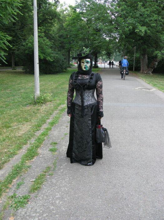 Wave Gotik Treffen, um festival gótico em Leipzig 40