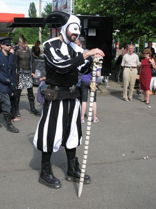 Wave Gotik Treffen, um festival gótico em Leipzig 42