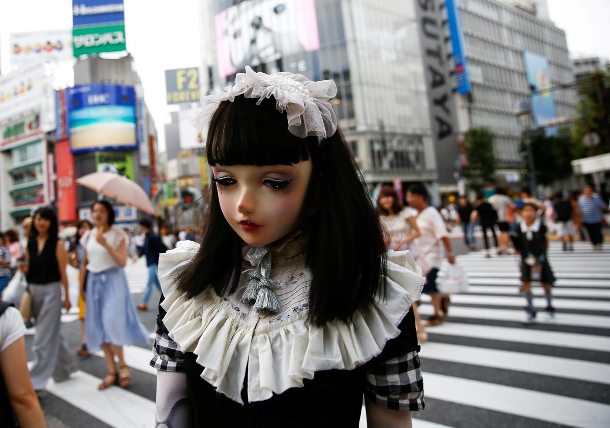 Lulu Hashimoto, uma assustadora boneca da vida real do Japão 15