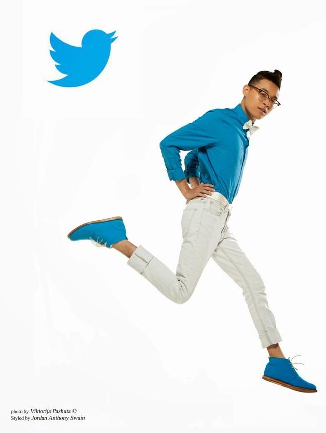 Artista reimagina redes sociais como homens elegantes 02