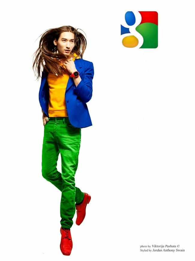 Artista reimagina redes sociais como homens elegantes 05