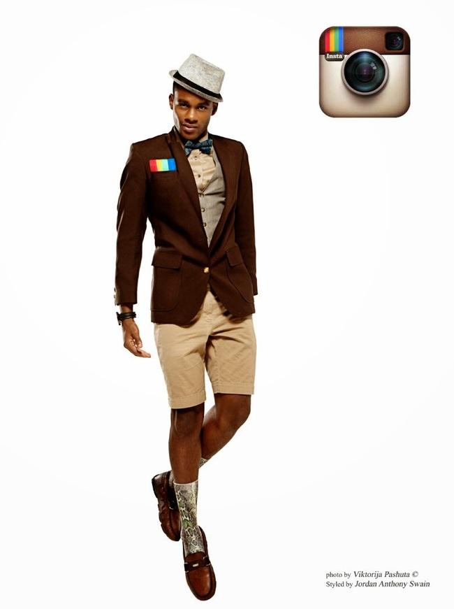 Artista reimagina redes sociais como homens elegantes 06