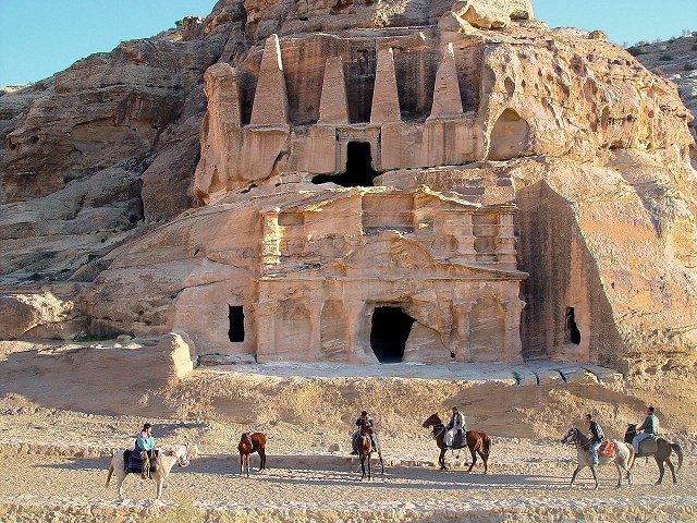 O monastério de Petra
