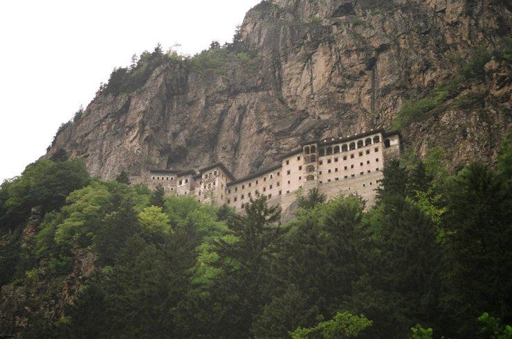 O monastério de Sümela