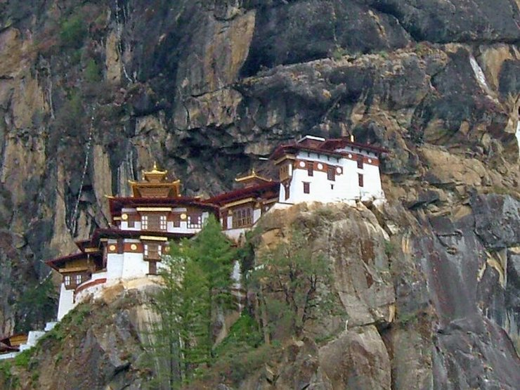 O monastério de Taktshang