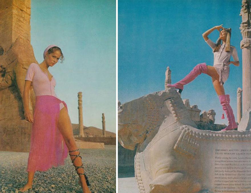 Estas revistas antigas mostram como se vestiam as mulheres iranianas nos anos 70 02