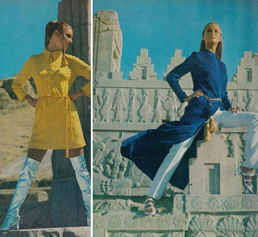 Estas revistas antigas mostram como se vestiam as mulheres iranianas nos anos 70 03