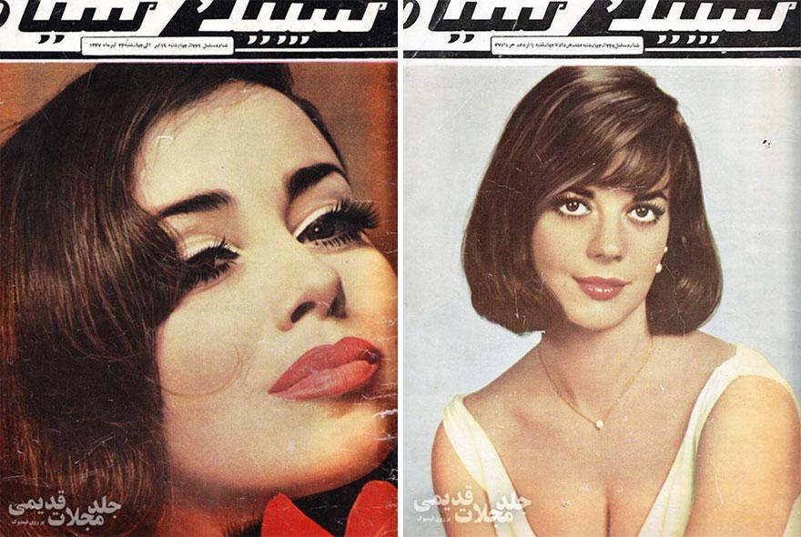 Estas revistas antigas mostram como se vestiam as mulheres iranianas nos anos 70 04