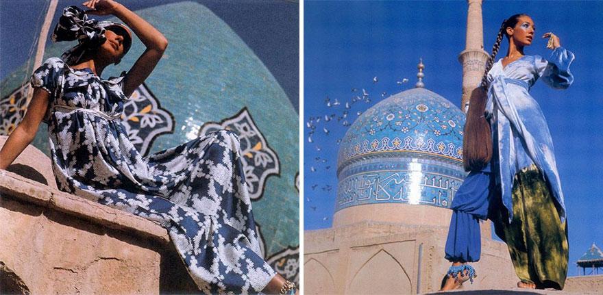 Estas revistas antigas mostram como se vestiam as mulheres iranianas nos anos 70 05