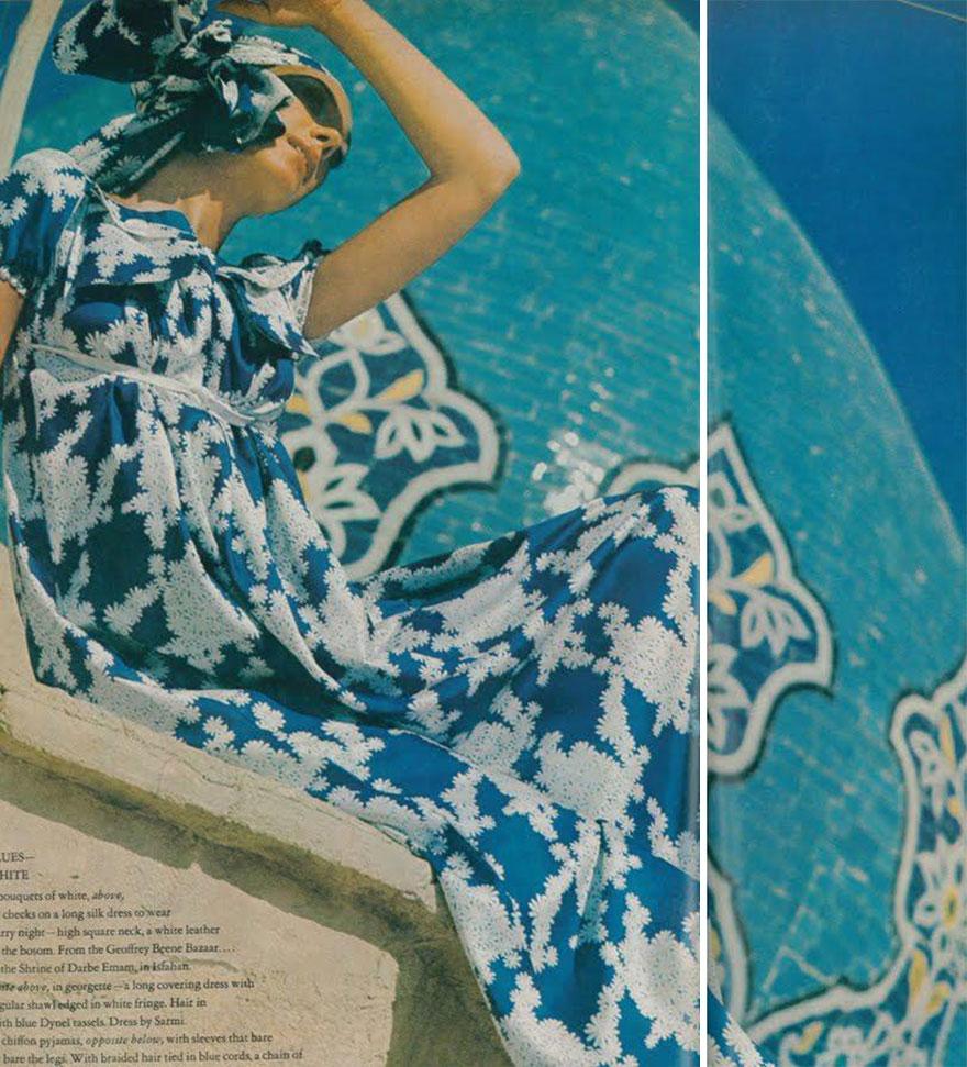 Estas revistas antigas mostram como se vestiam as mulheres iranianas nos anos 70 06