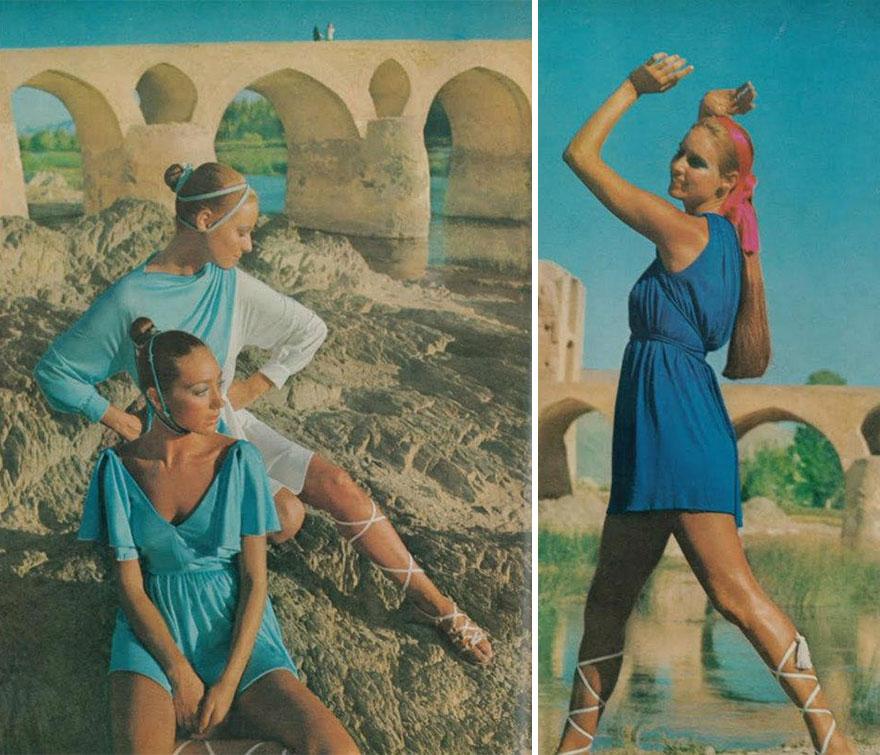 Estas revistas antigas mostram como se vestiam as mulheres iranianas nos anos 70 07