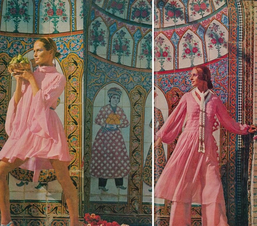 Estas revistas antigas mostram como se vestiam as mulheres iranianas nos anos 70 10