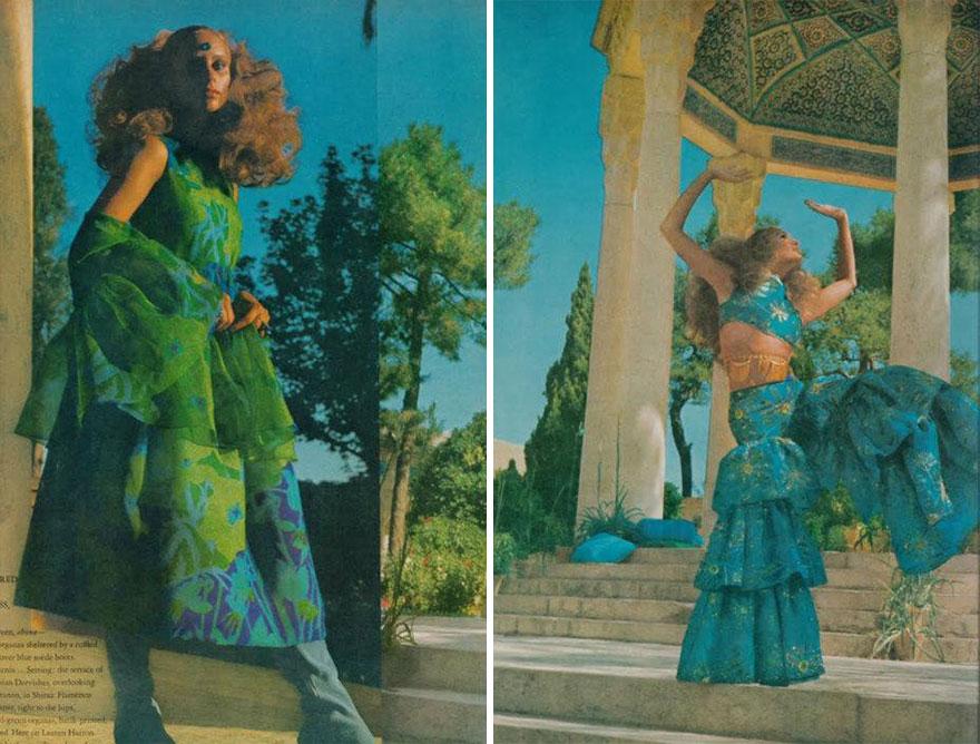 Estas revistas antigas mostram como se vestiam as mulheres iranianas nos anos 70 11