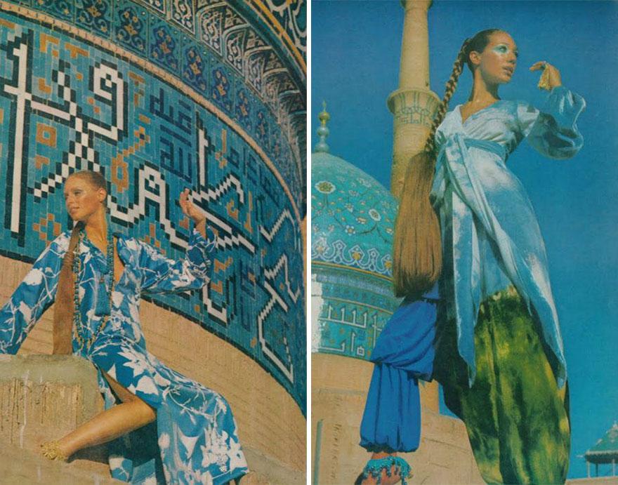 Estas revistas antigas mostram como se vestiam as mulheres iranianas nos anos 70 12