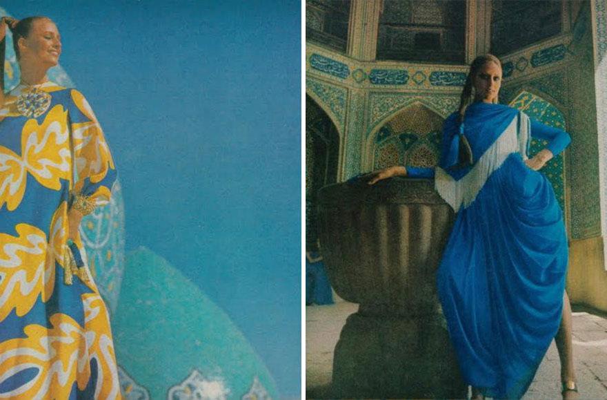 Estas revistas antigas mostram como se vestiam as mulheres iranianas nos anos 70 13