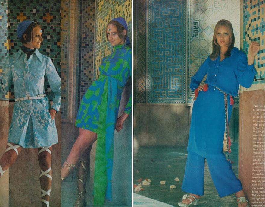 Estas revistas antigas mostram como se vestiam as mulheres iranianas nos anos 70 15