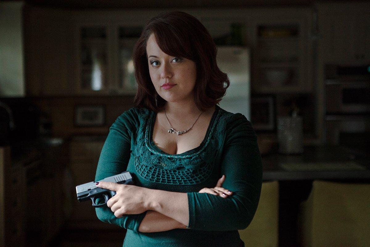 Série de fotos mostra texanas com as armas que elas amam 14