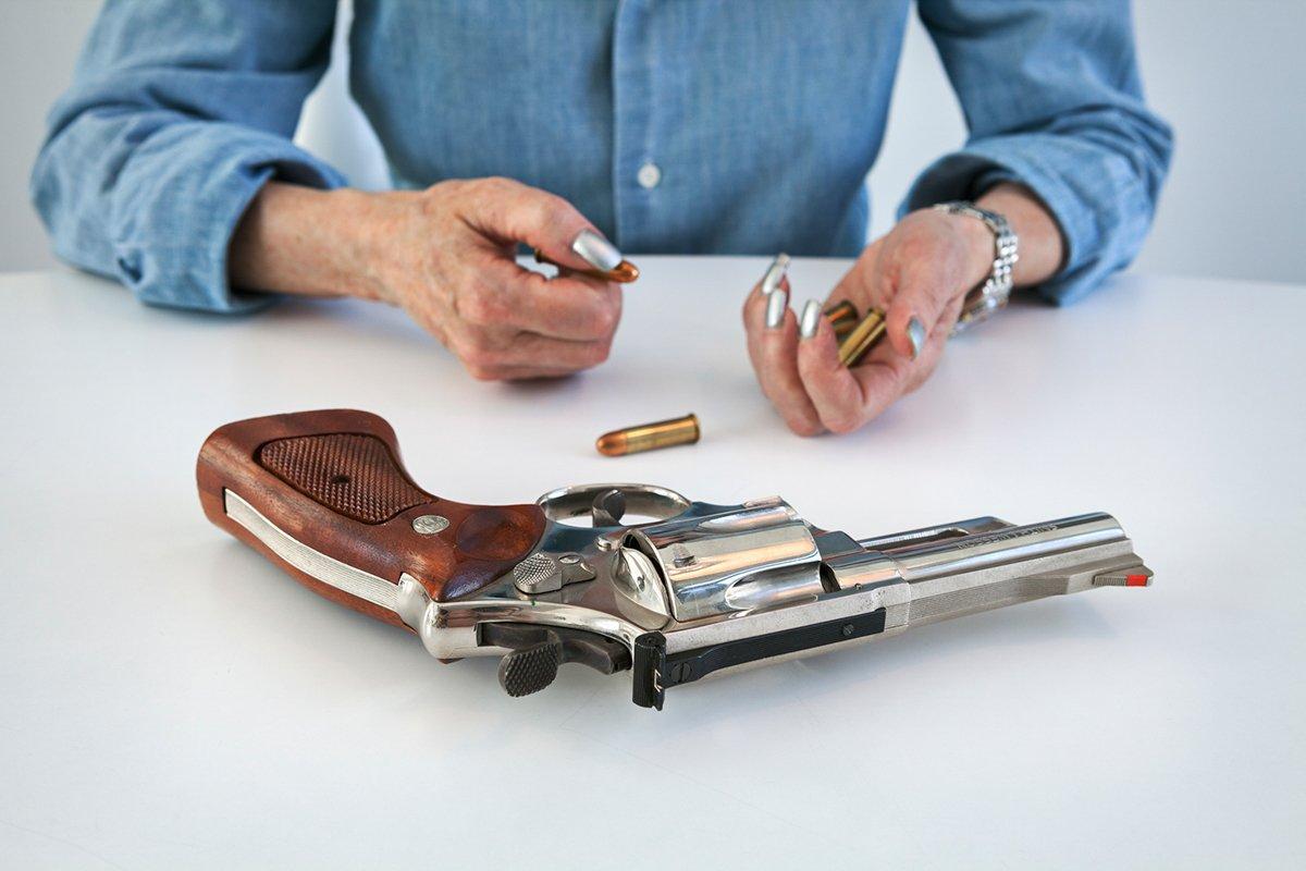 Série de fotos mostra texanas com as armas que elas amam 17