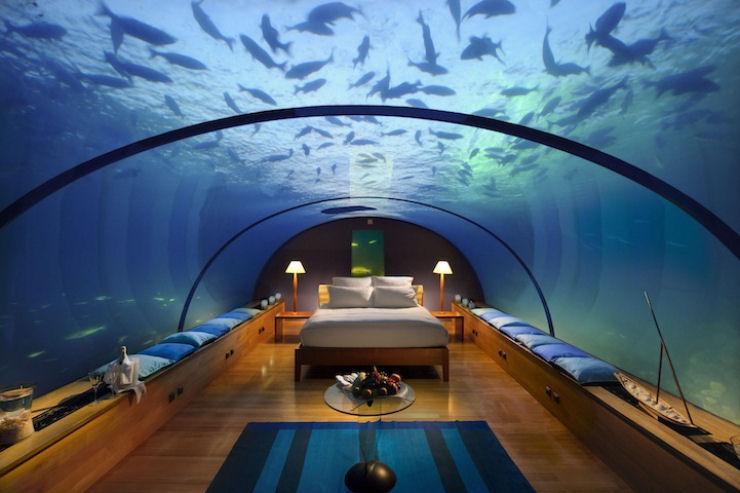 Quarto Underwater espetacular em Maldivas 01