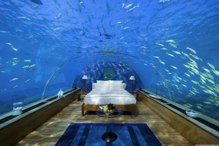 Quarto Underwater espetacular em Maldivas 02