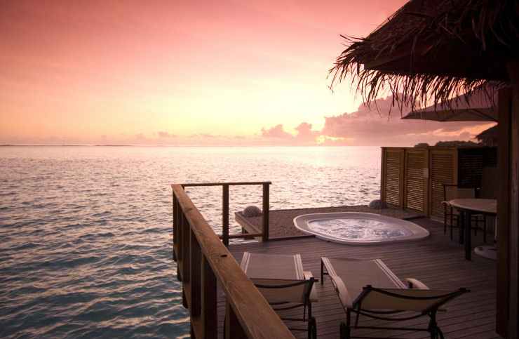 Quarto Underwater espetacular em Maldivas 13