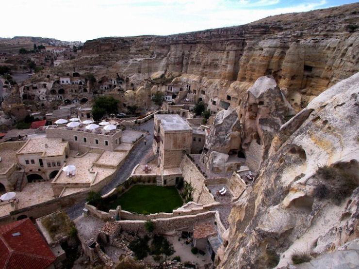 Hotel das cavernas na Turquia 02