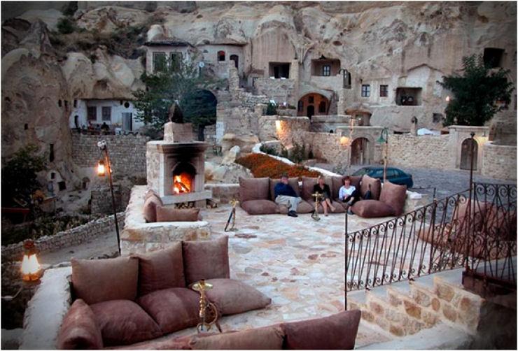Hotel das cavernas na Turquia 04