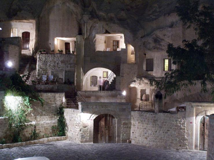 Hotel das cavernas na Turquia 05