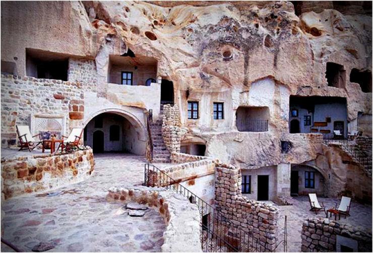Hotel das cavernas na Turquia 06