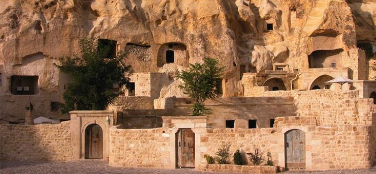 Hotel das cavernas na Turquia 07