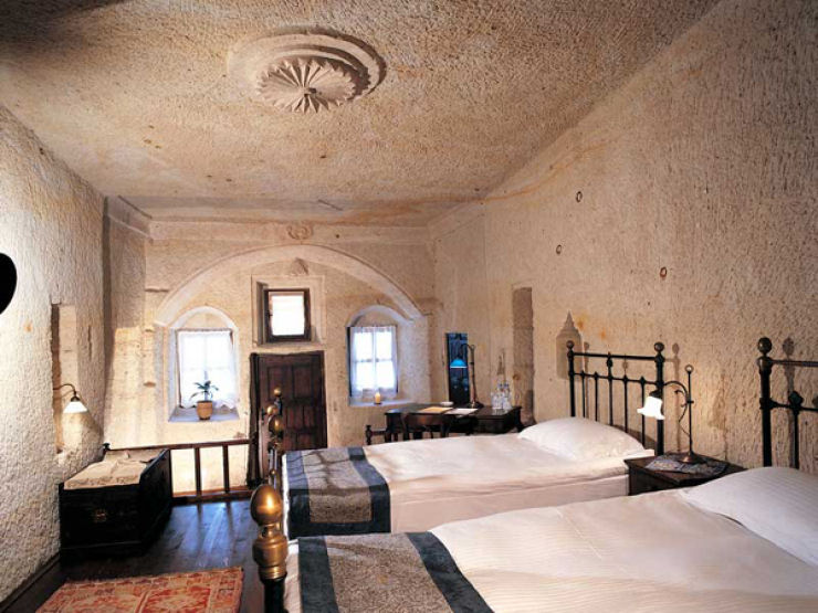 Hotel das cavernas na Turquia 10