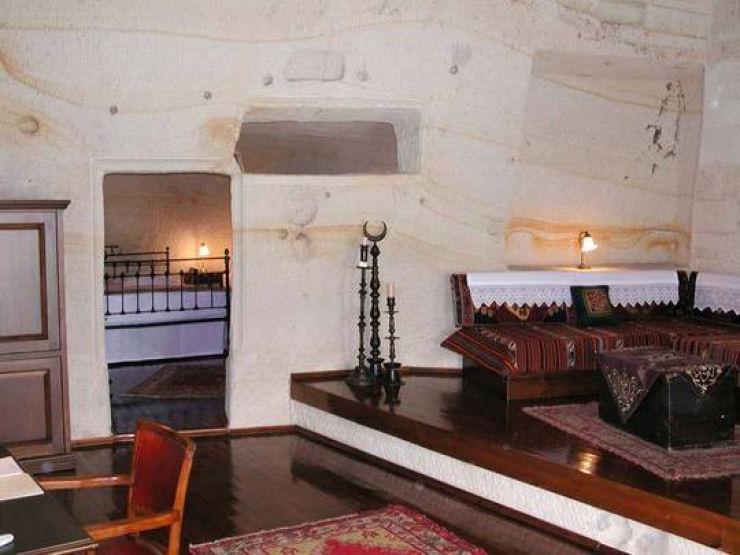 Hotel das cavernas na Turquia 11